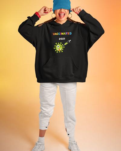 Vaccinated 2021 Tshirt